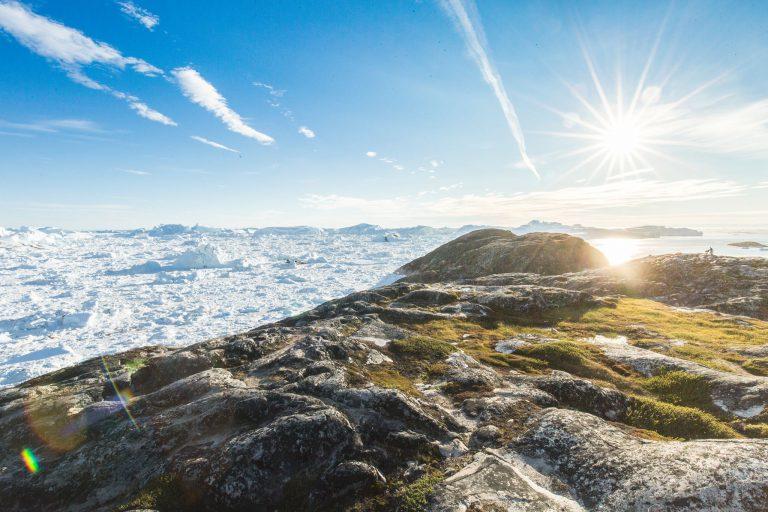 Iceberg hike - Gul rute