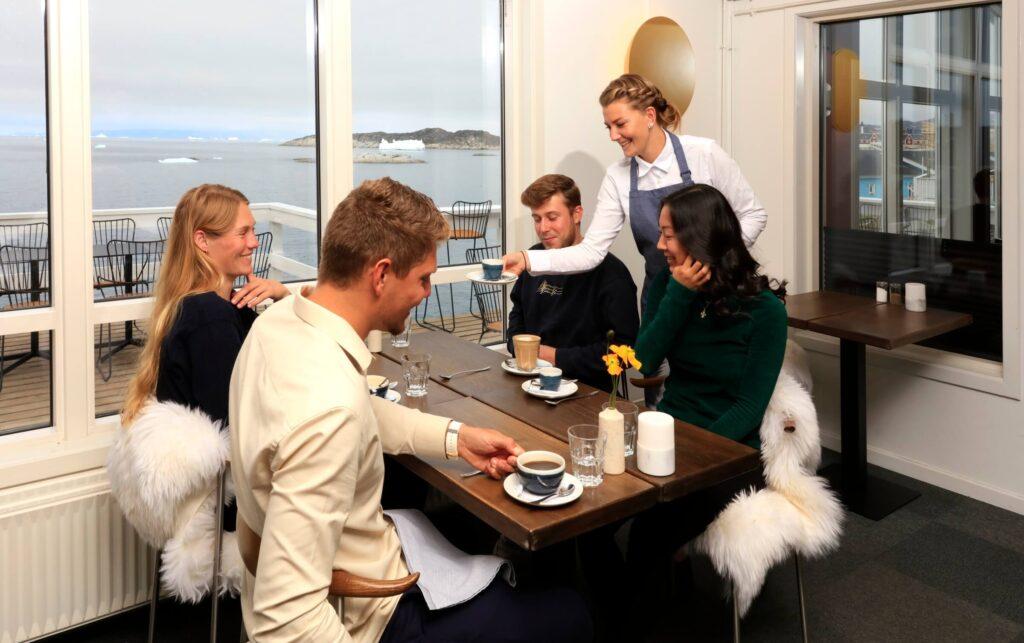 Dining at Restaurant Icefiord