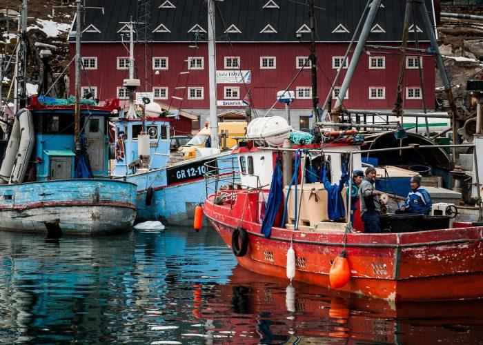 Ilulissat fishing boats